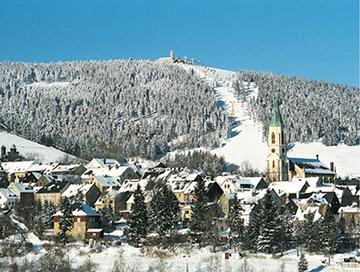 Geführte Wanderung im Gebiet des Fichtelbergs und Klinovec